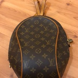 Louis Vuitton Vintage Ellipse Monogram Backpack